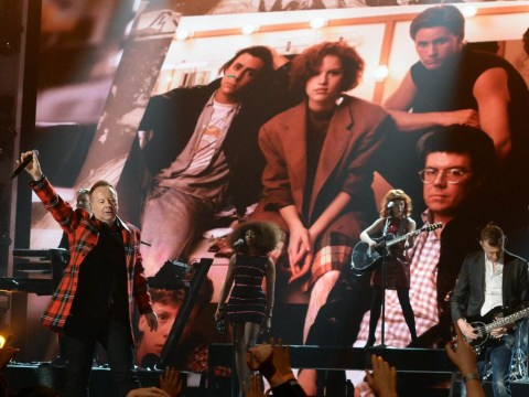 Forget the youngsters, everyone went mad for Simple Minds' Breakfast Club tribute at the Billboards 2015