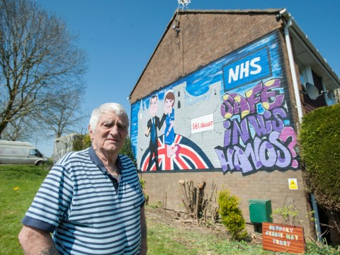 Man told 30ft anti-Tory mural on his house must be removed