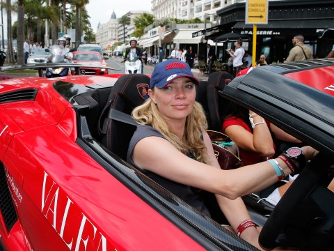 Jodie Kidd made the most Top Gear entrance to Cannes in a Lamborghini