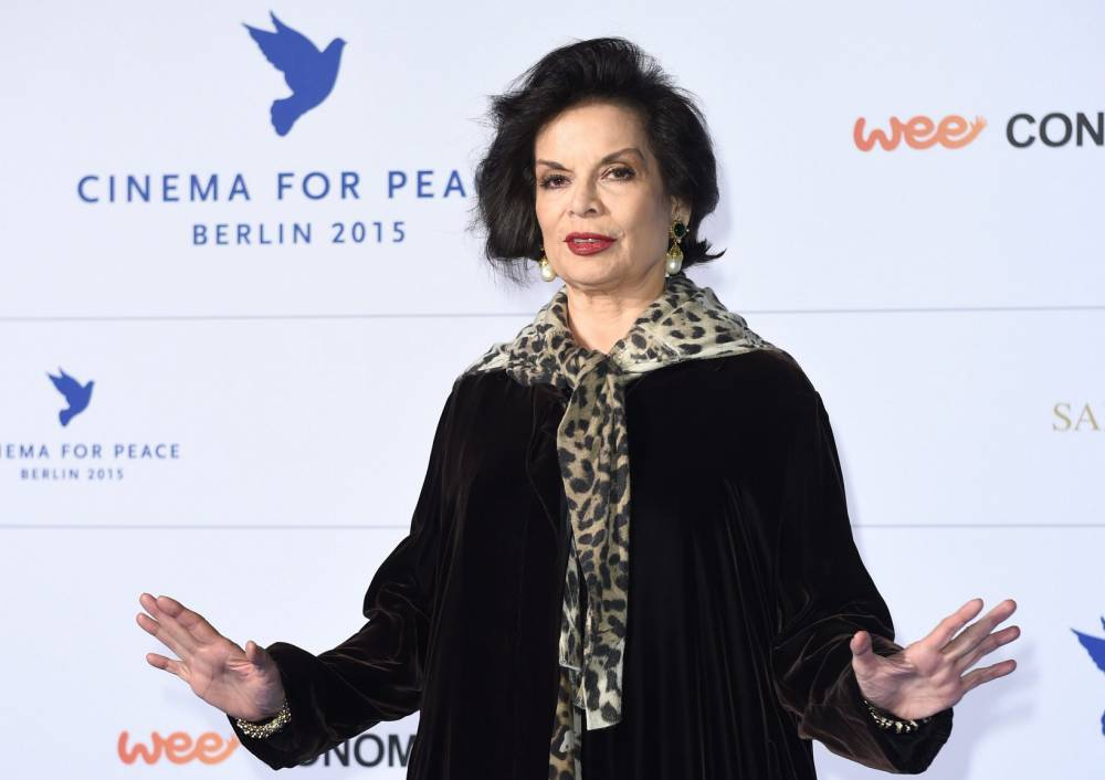 epa04722369 (FILE) A file picture dated 09 February 2015 shows Nicaraguan-born human rights activist Bianca Jagger arriving for the Cinema for Peace Gala during the 65th Berlin International Film Festival, in¿Berlin, Germany. Bianca Jagger will turn 70 years of age on 02 May 2015. EPA/BRITTA¿PEDERSEN