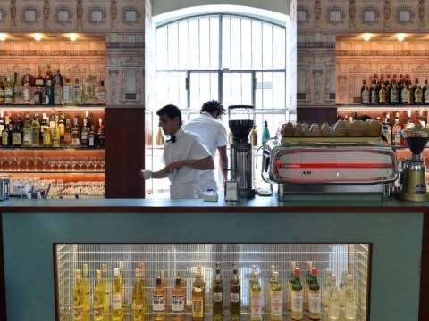 Wes Anderson has designed a cafe which is SO Wes Anderson