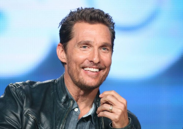 Actor Matthew McConaughey speaks onstage during the 'True Detective' panel discussion at the HBO portion of the 2014 Winter Television Critics Association tour at the Langham Hotel on January 9, 2014 in Pasadena, California. (Photo by Frederick M. Brown/Getty Images)