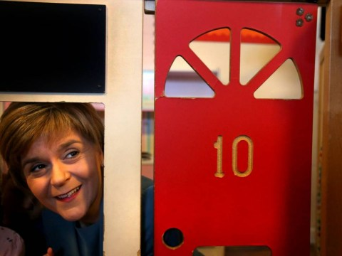 Nicola Sturgeon moves into Number 10 ahead of polling day