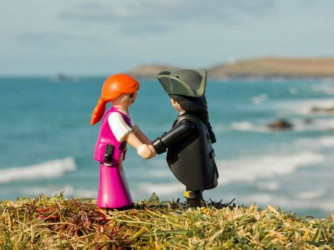 Some clever chap has recreated Poldark using toys