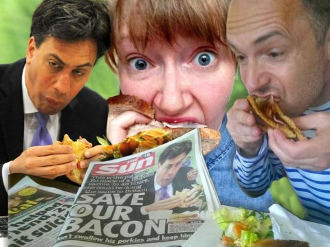 #JeSuisEd: People are tweeting pictures of themselves stuffing their faces with food