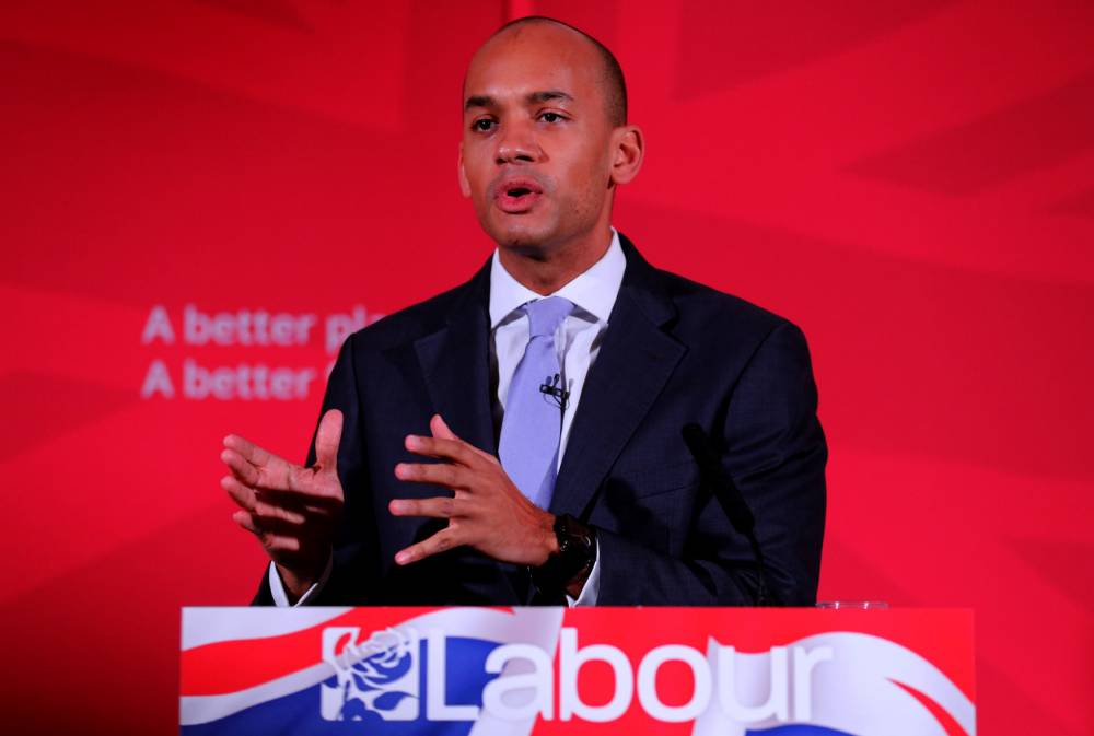 """File photo dated 9/4/2015 of Shadow Business Secretary Chuka Umunna who  """"intends to put himself forward and stand for the leadership of the Labour Party"""", he has announced. PRESS ASSOCIATION Photo. Issue date: Tuesday May 12, 2015. See PA story POLITICS Labour. Photo credit should read: Chris Radburn/PA Wire"""