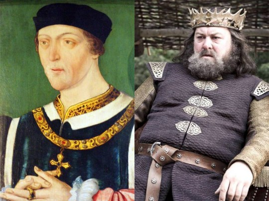 Robert Baratheon was based on King Henry VI of England (Photo by The Print Collector/Print Collector/Getty Images/HBO)