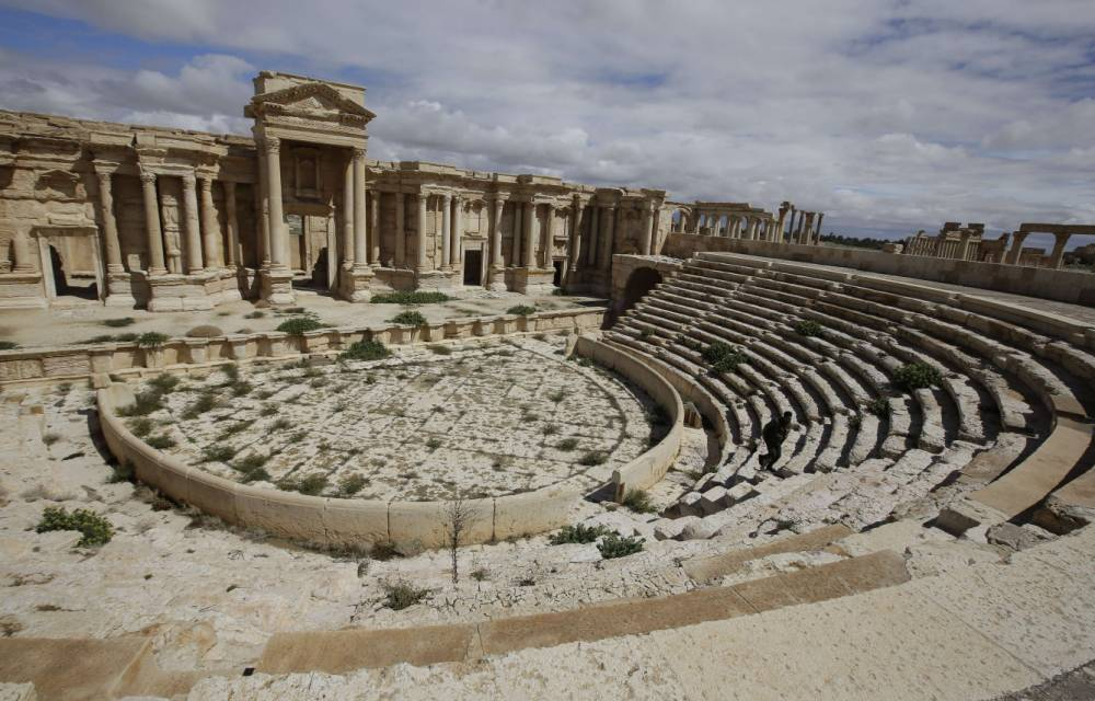 'Monuments Men' come together to protect ancient Syrian artifacts from Islamic State militants