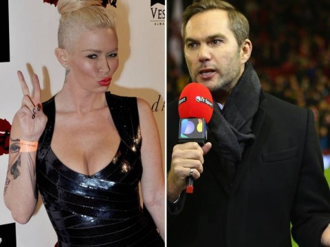 Porn star Jenna Jameson and former Liverpool defender Jason McAteer strike up most unlikely of friendships on Twitter