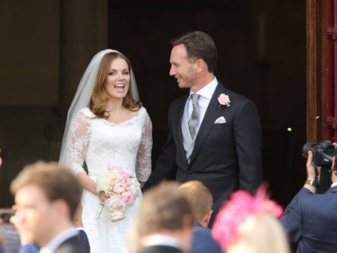 Geri Halliwell marries F1 boss Christian Horner – but only one of her fellow Spice Girls showed up
