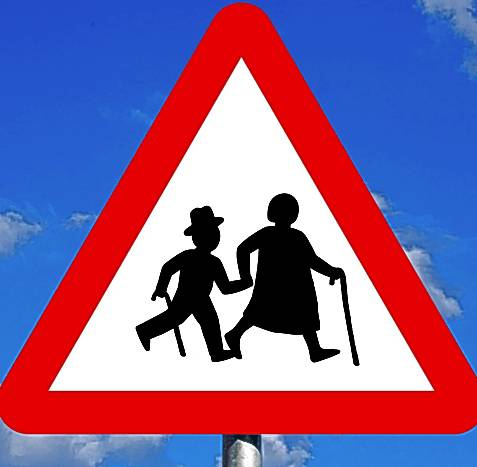ELDERLY ROAD SIGNS