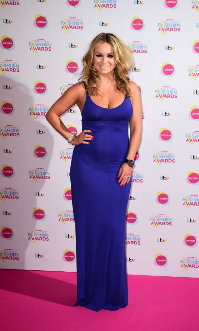 Ola Jordan attending Lorraine's High Street Fashion Awards at the Grand Connaught Rooms, London. PRESS ASSOCIATION Photo. Picture date: Tuesday May 19, 2015. Photo credit should read: Ian West/PA Wire