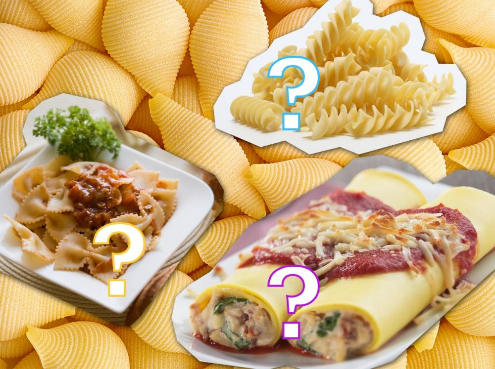 Quiz: How many different pasta shapes can you name?