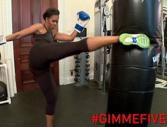 FLOTUS just shared her arm workout: get this down. Michelle Obama  https://www.facebook.com/WhiteHouse/videos?fref=photo