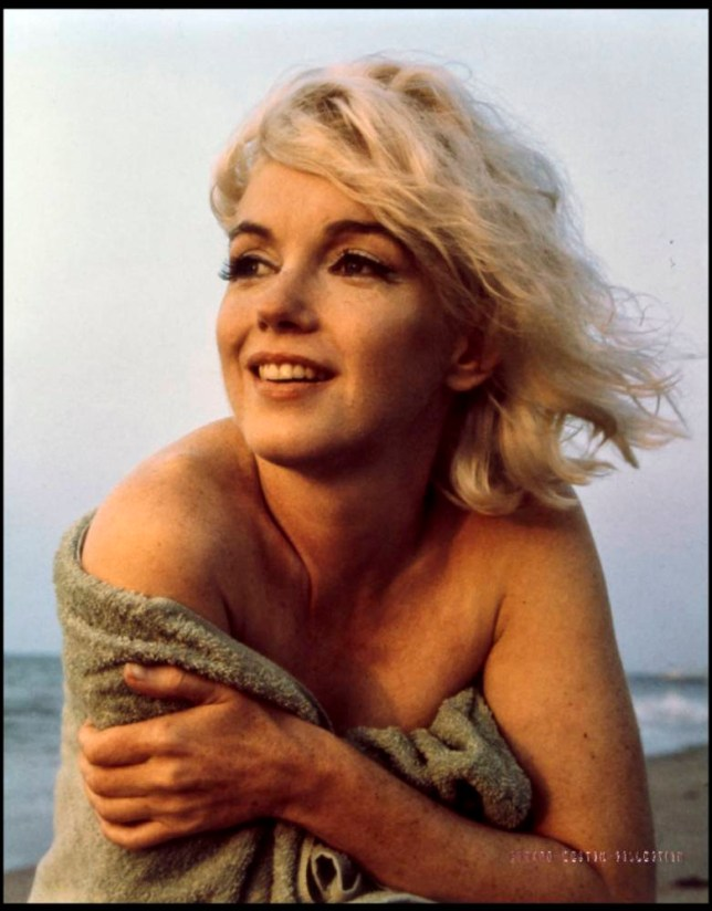 BNPS.co.uk (01202 558833)øPic: BloomsburyAuction/BNPSø Poignant pictures of a screen icons last ever photoshoot on Santa Monica beach. The last ever professional photos of tragic Hollywood star Marilyn Monroe taken on 13th July 1962, just weeks before her death have emerged for sale. Photographer Georghe Barris' refused to allow the images to be published for years following her untimely death. They were eventually published in limited edition prints in 1987. Eight of them are now being sold at auctioneers Bloomsbury in London.  Est £8000