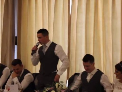 Is this the most inventive best man speech ever?