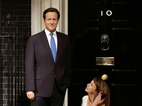 David Cameron's waxwork has been updated with wrinkles and grey hair