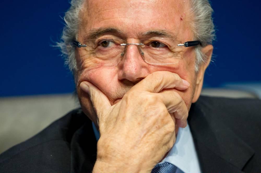 Fifa president Sepp Blatter in hospital after 'small emotional breakdown'