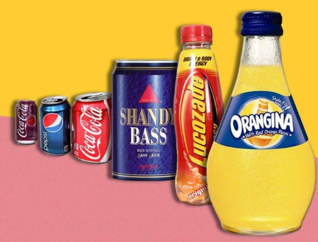 UK's favourite fizzy beverages