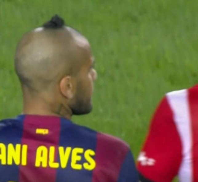 Dani Alves new blonde haircut - YouTube |Dani Alves Haircut