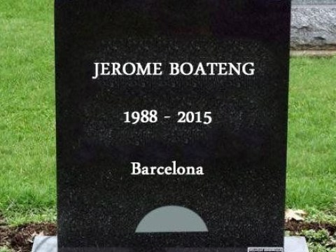 Jerome Boateng gets trolled on Twitter after Lionel Messi humiliates him during Barcelona v Bayern Munich