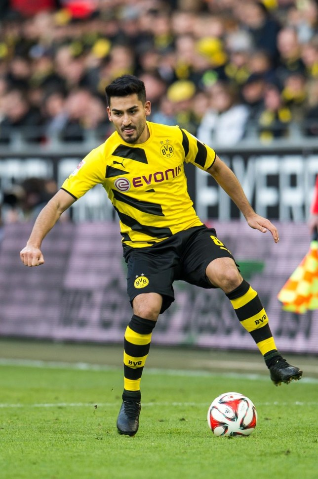 Ilkay Gundogan could be on his way to the Premier League