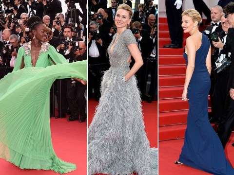 Sienna smouldered and Lupita looked like a princess on day one of the Cannes red carpet