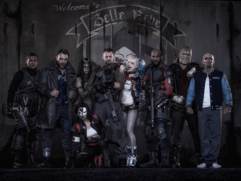 Suicide Squad director David Ayer posts first group shot and Margot Robbie steals the show