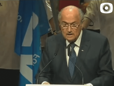 Fifa corruption scandal: Somebody has brilliantly edited Sepp Blatter's speech and made him speak the truth