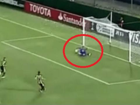 Awful! Corinthians goalie Cassio Ramos drops horror clanger in Copa Libertadores clash