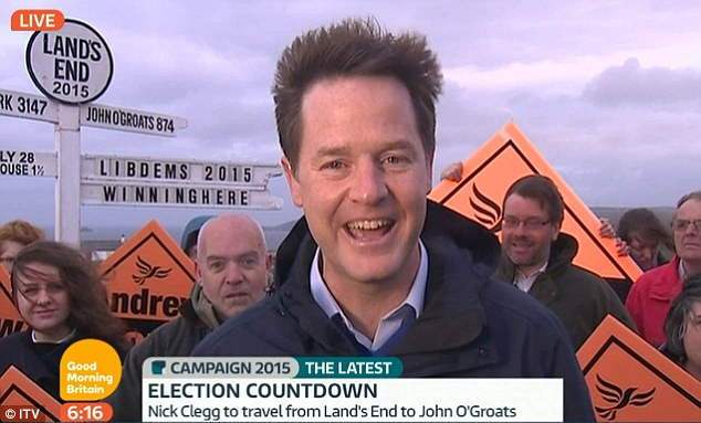 'There might have to be a second election,' Nick Clegg warns