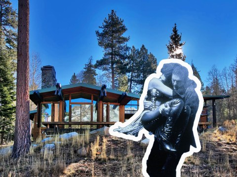 Now you can buy the lake house from The Bodyguard