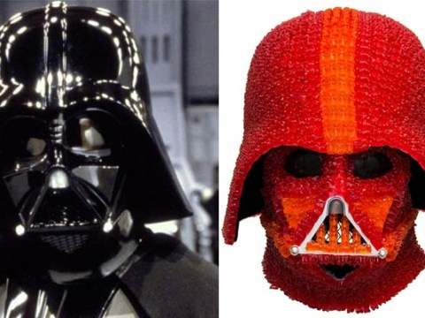 Someone has made Darth Vader's helmet from 1,000 gummy bears