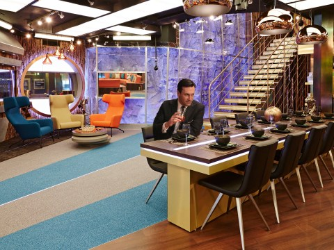 The Big Brother house gets a Mad Men makeover
