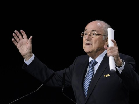 Sepp Blatter re-elected as Fifa president after Prince Ali bin al-Hussein pulls out of election