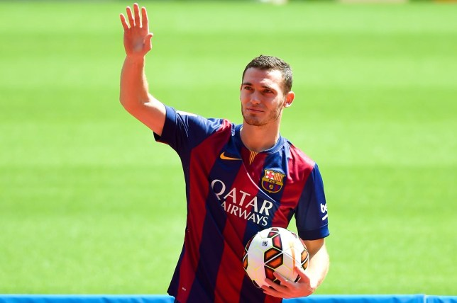 FC Barcelona Unveil New Signing Thomas Vermaelen David Ramos/Getty Images