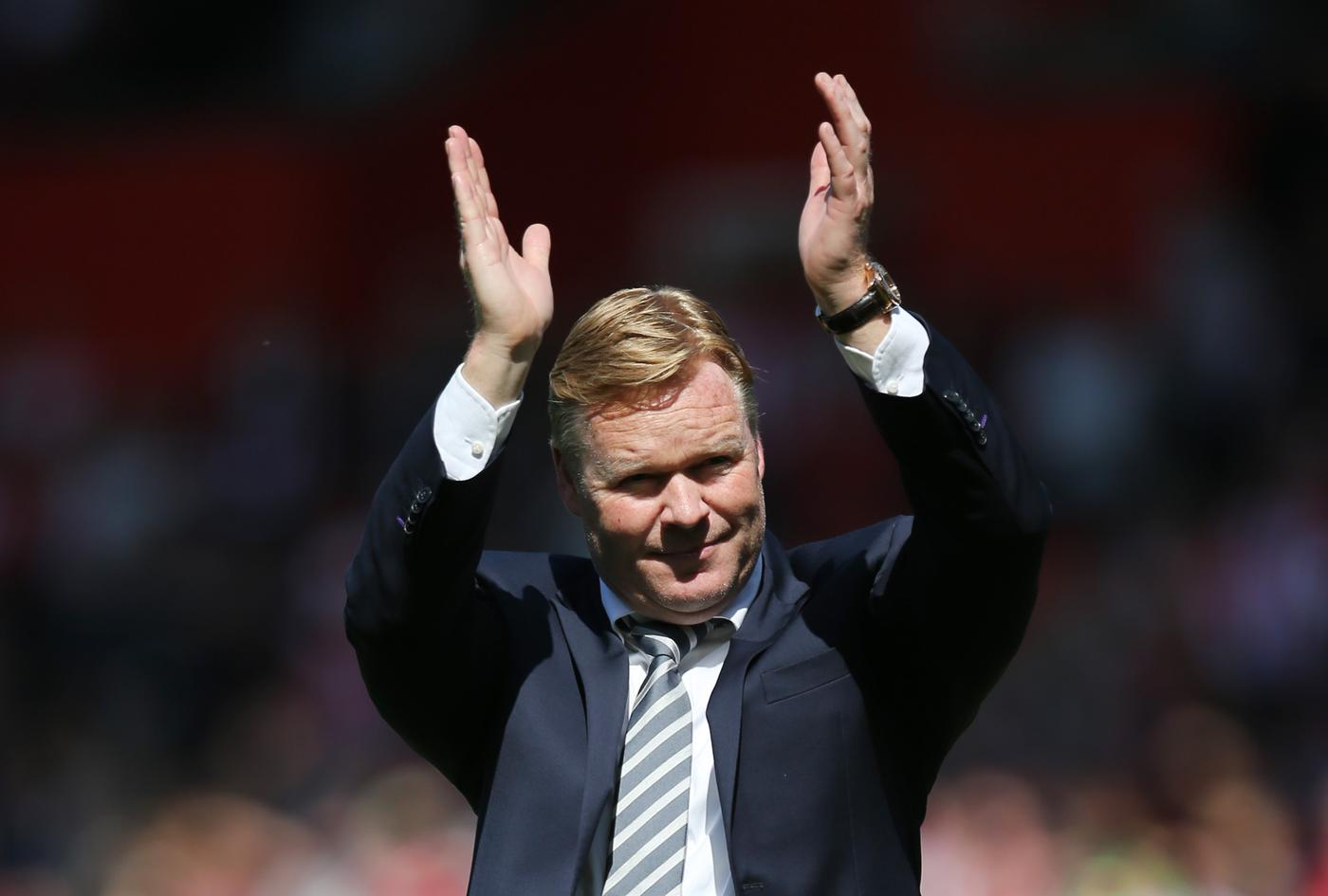 Southampton boss Ronald Koeman confirms the club need to bring in two defenders