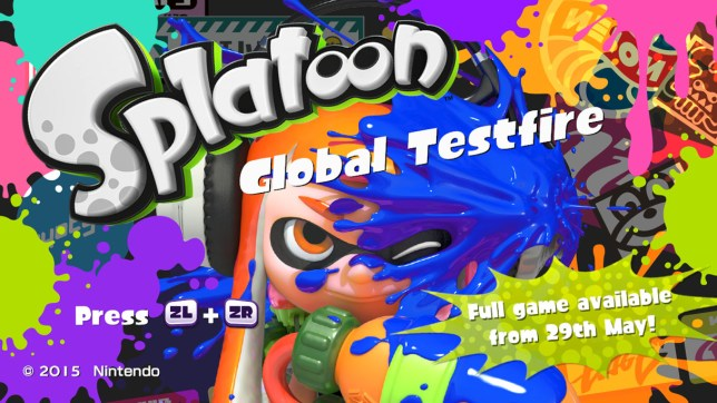 Free Splatoon demo available now, playable on Saturday