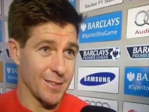 Liverpool's Steven Gerrard brilliantly trolls Chelsea fans after Stamford Bridge ovation