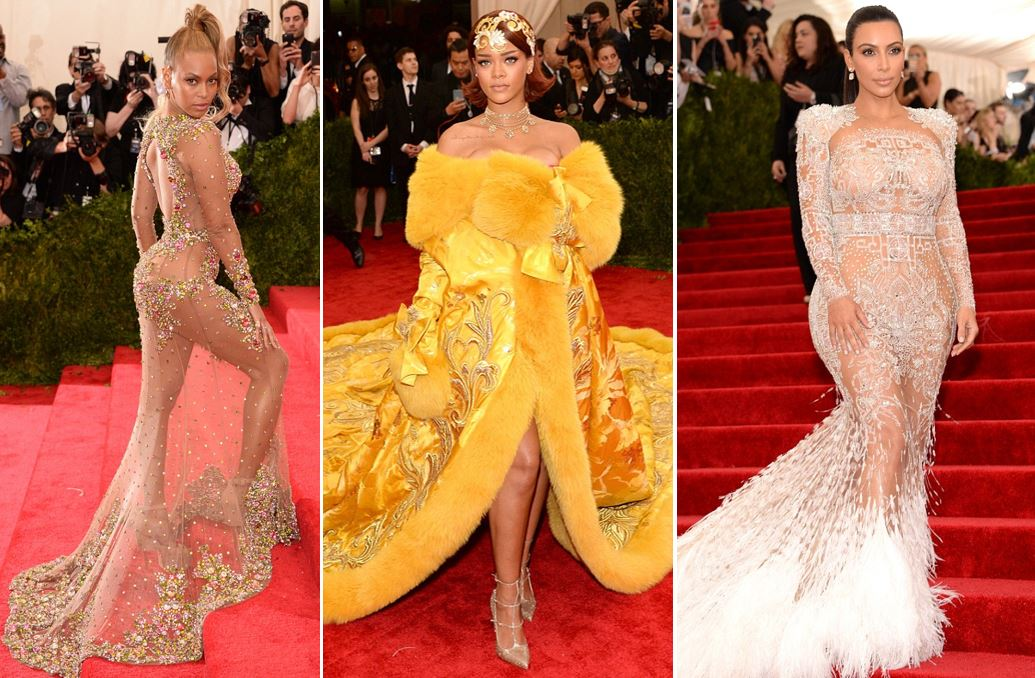 Met Gala 2015: Beyonce went nude, Kim K channelled Cher, and Rihanna was one hot omelette
