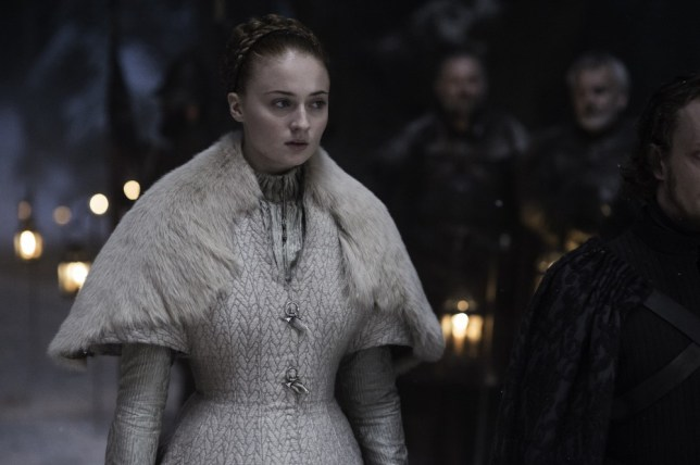 Game Of Thrones season 5, episode 6, Unbowed, Unbent, Unbroken, starring Sophie Turner as Sansa Stark