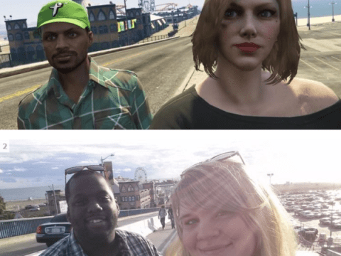 The touching story of two best friends on Grand Theft Auto who met for real in their favourite game location