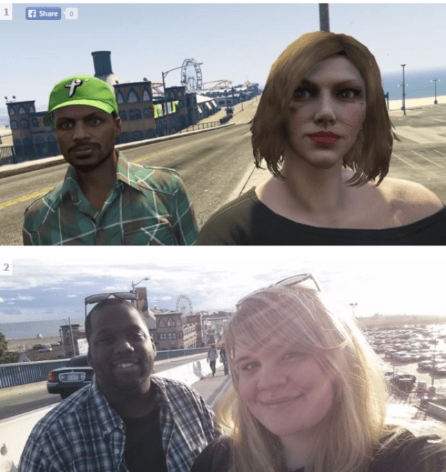 7e780cc1b The touching story of two best friends on Grand Theft Auto who met for real  in their favourite game location