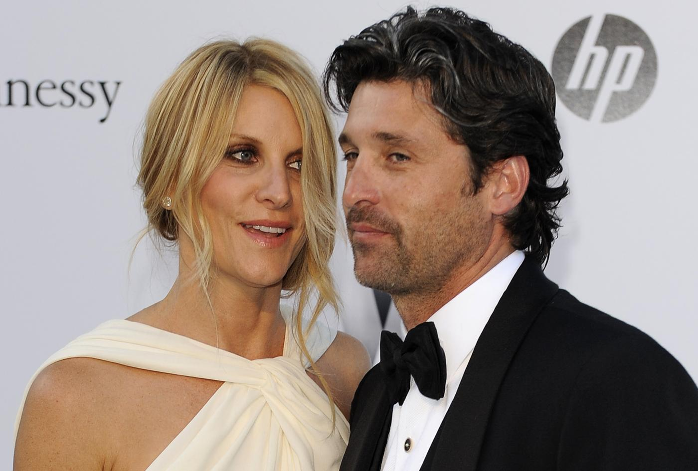 Jillian Fink, Patrick Dempsey AP Photo/Jonathan Short, File