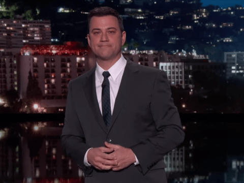 Jimmy Kimmel cancelled his show so everyone watched David Letterman's final broadcast