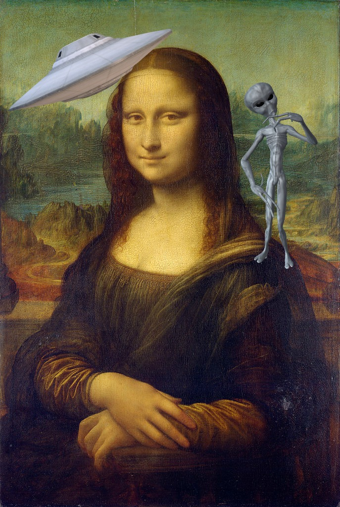Is the Mona Lisa proof that aliens exist?