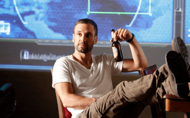 Nick Blood as Lance Hunter in Marvel's Agents of S.H.I.E.L.D. (Picture: ABC)