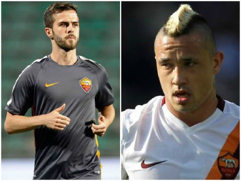 Liverpool 'on alert as Roma may have to sell £66m-rated pair Miralem Pjanic and Radja Nainggolan to meet FFP sanctions'
