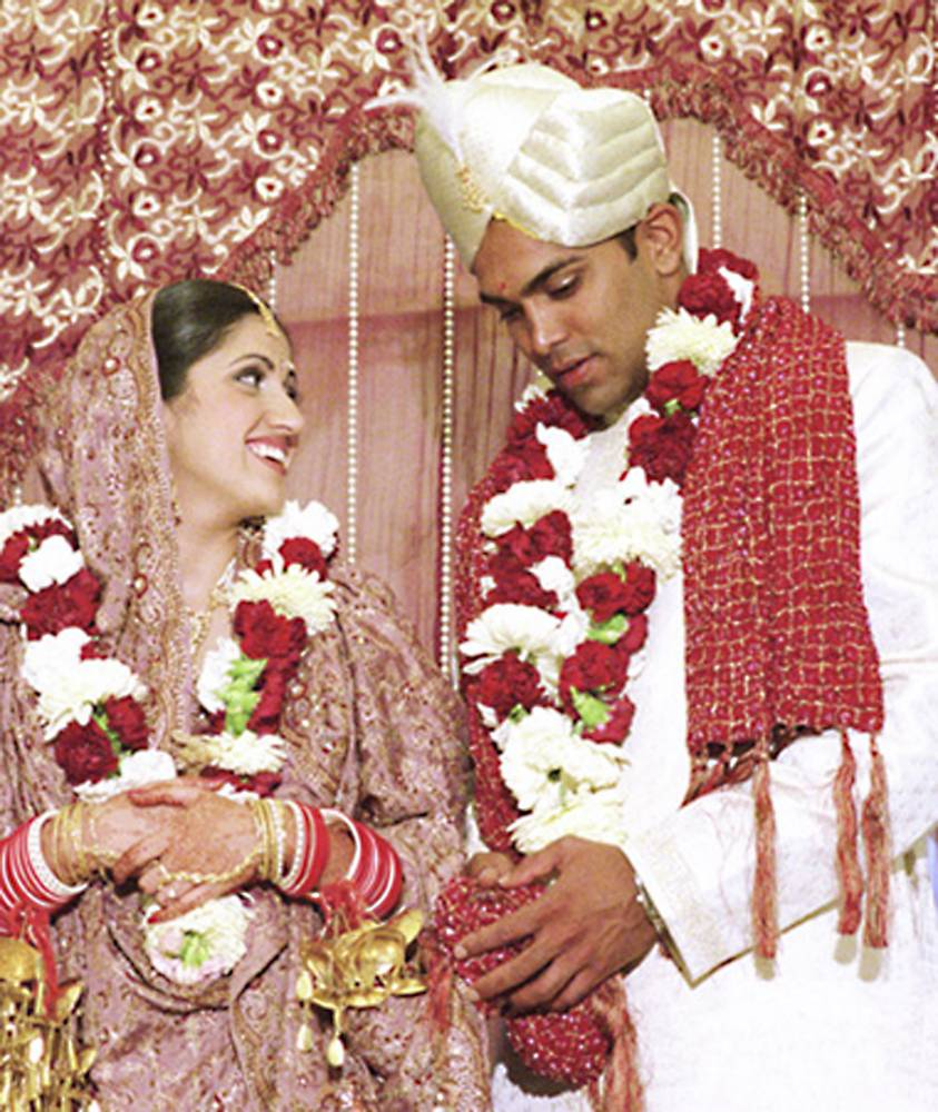 Arranged marriages  -  the curse of British Asians .... Posed Picture