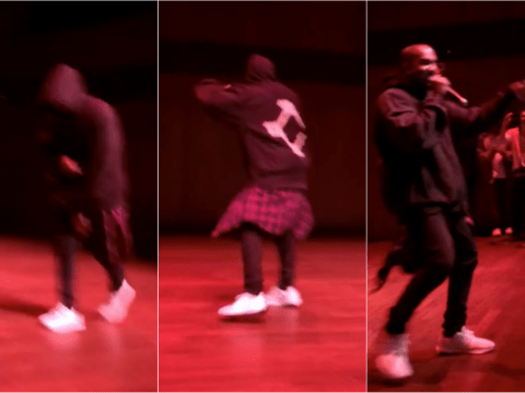 Kanye West rocks up at open mic night and the crowd go INSANE